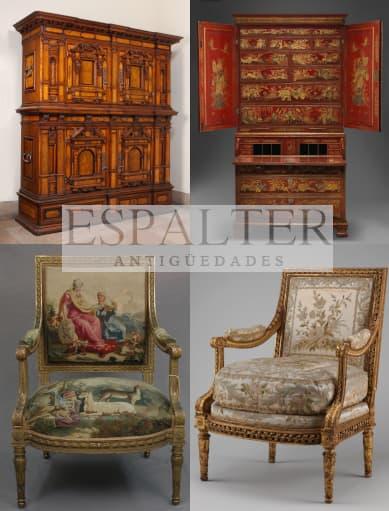 Comprador de muebles antiguos, vender muebles en Madrid, Anticuario en Madrid