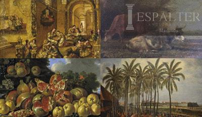 Compra venta de cuadros antiguos en Madrid, comprador de cuadros antiguos, cuadros religiosos, bodegones, comprador de antigüedades