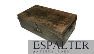 Compra Venta De Baules Antiguos En Antiguedades Espalter En Madrid - Baules-antiguos