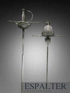 espada antigua siglo XVII