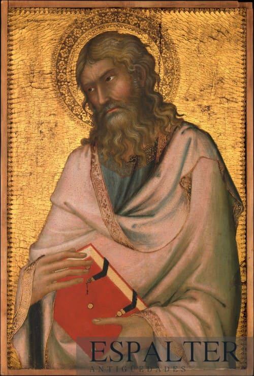 Retrato religioso de San Juan Antiguo