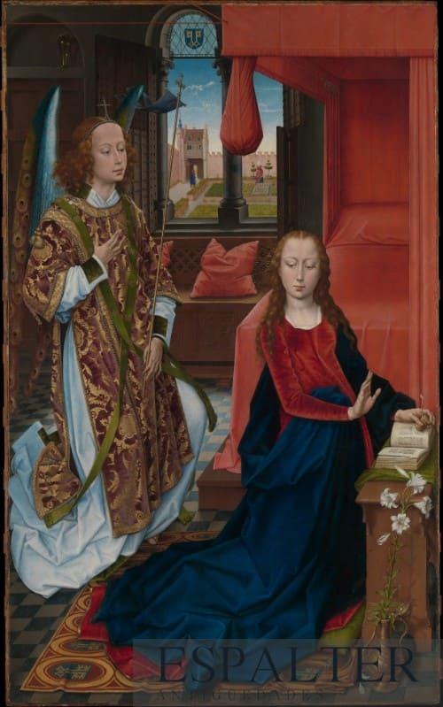 Compramos cuadros de la Anunciación de la Virgen